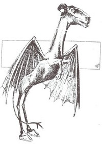 The Jersey Devil Monster is a Friend of BigFootZombie.com